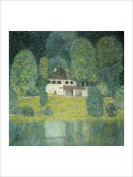 The Litzlbergkeller on the Attersee Giclée-Druck von Gustav Klimt