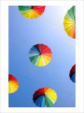 Beach Parasol Giclee Print by Stephen Lebovits