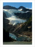 Waterfall Glacier Giclee Print by Charles Glover