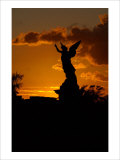 Angel Sunset Giclee Print by Charles Glover