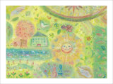 You Are a Sunny Place, It Is Warm Giclee Print by Miyuki Hasekura