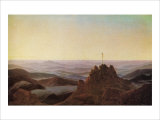 Morning in the Riesengebirge Giclee Print by Caspar David Friedrich