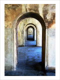 Archway Entry Giclee Print by Stephen Lebovits
