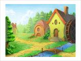 A Lovely House Giclee Print by Kyo Nakayama