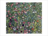 Italian Garden Landscape Giclee Print by Gustav Klimt