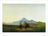 Bohemian Landscape Giclee Print by Caspar David Friedrich