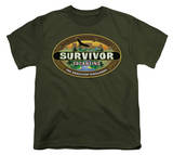 Youth: Survivor - Tocantins Logo T-shirts