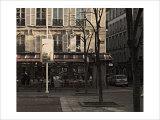 Nicolas Hugo - Le Bonaparte, Paris, France Digitálně vytištěná reprodukce