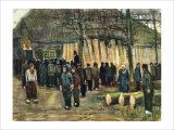 The Timber Auction Giclee Print by Vincent van Gogh