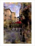 Nicolas Hugo - Provence in a Morning, France Digitálně vytištěná reprodukce