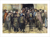 The State Lottery Giclee Print by Vincent van Gogh