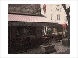 Nicolas Hugo - Cafe Le Provence, Aix-En-Provence Digitálně vytištěná reprodukce