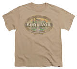 Youth: Survivor - Tocantins Distressed T-shirts