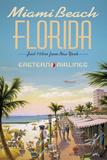 Miami Beach Gicléetryck av Kerne Erickson