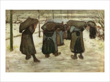 Women Carrying Sacks of Coal Giclee Print by Vincent van Gogh
