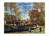 The Garden of the Presbytery Giclee Print by Vincent van Gogh