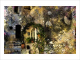 Rue des Bauques, France Giclee Print by Nicolas Hugo