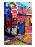 Do Not Enter, Venice Beach, California Giclee Print by Steve Ash