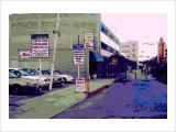Public Parking Down Town, Los Angeles, California Giclee Print by Steve Ash