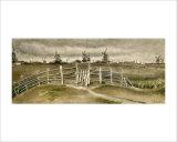 Windmills near Dordrecht Giclee Print by Vincent van Gogh