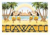 虹のハワイ ジクレープリント : カーン・エリクソン