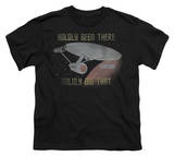 Youth: Star Trek - Boldly Did That T-shirts