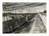 A Road near Loosduinen Giclee Print by Vincent van Gogh