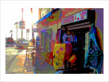 T-Shirts, Venice Beach, California Giclee Print by Steve Ash