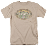 Survivor - Tocantins Distressed T-shirts