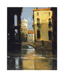 Sunday Morning, Venice Giclee Print by Ted Goerschner