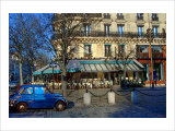 Place Saint-German, Paris, France Giclee Print by Nicolas Hugo