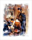 Duet, Los Angeles, California Giclee Print by Nicolas Hugo