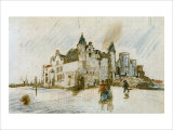 Antwerp, The Steen Giclee Print by Vincent van Gogh