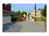 End, Venice Beach, California Giclee Print by Steve Ash