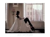 Pensando em você Poster por Jack Vettriano