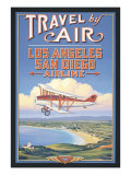 Travel by Air Giclee Print by Kerne Erickson