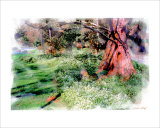 Under the Tree Giclee Print by Nicolas Hugo
