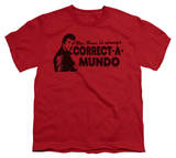 Youth: Happy Days - Correct A Mundo T-shirts