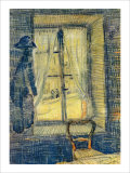 The Window at Bataille's Giclee Print by Vincent van Gogh