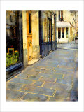 Stone Pavement in Paris, France Giclee Print by Nicolas Hugo