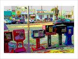 Jobs, Venice Beach, California Giclee Print by Steve Ash