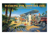 Inter-Island Airways Giclee Print by Kerne Erickson