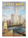 Chicago Giclee Print by Kerne Erickson