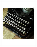 American Antiques: Typewriter Giclee Print by Nicolas Hugo