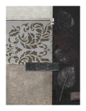 Silver Damask II Giclee Print by Connie Tunick