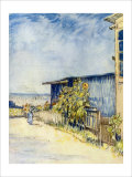 The Outskirts of Paris Giclee Print by Vincent van Gogh