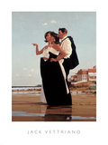 The Missing Man II Poster by Jack Vettriano