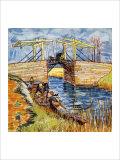The Pont de Langlois, Arles Giclee Print by Vincent van Gogh