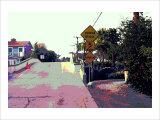 Narrow Bridge, Venice Beach, California Giclee Print by Steve Ash