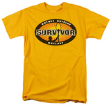 Survivor - Gold Burst T-shirts